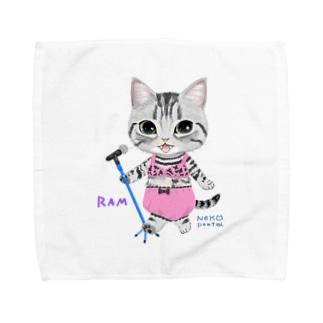 ライブラム 青マイク Towel handkerchiefs