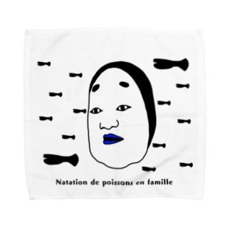 NOUちゃん 魚編 Towel handkerchiefs