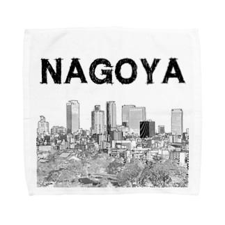 The City 名駅摩天楼 Towel handkerchiefs