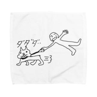 カンバンマン(散歩) Towel handkerchiefs