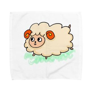 きみたん Towel handkerchiefs
