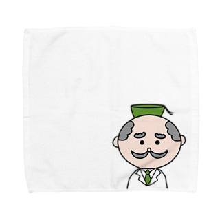 おちゃはかせ長袖シャツ Towel handkerchiefs