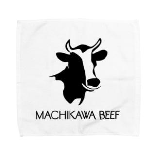MACHIKAWA BEEF Towel handkerchiefs