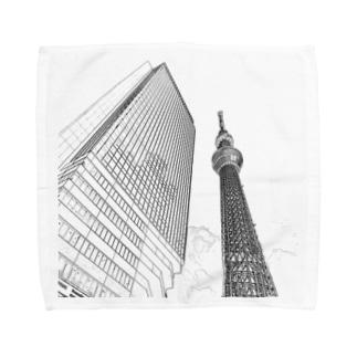 The City 東京スカイツリー Towel handkerchiefs