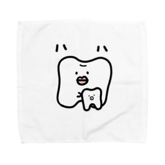 ハハのもの Towel handkerchiefs