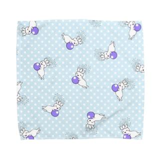 水玉チカちゃん Towel handkerchiefs