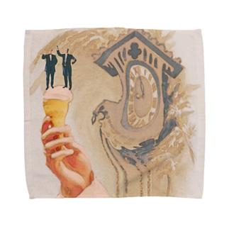 やわらか世界 Towel handkerchiefs