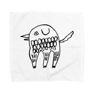 アマビエ いっぬ Towel handkerchiefs