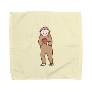 おさるのチビちゃん Towel handkerchiefs