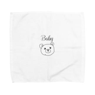 Baby Bearちゃん Towel handkerchiefs
