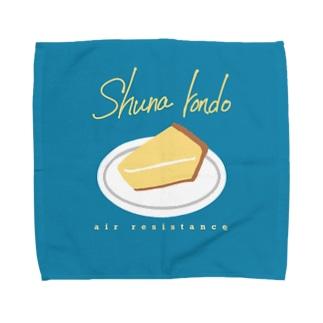 チーズケーキフィロソフィー Towel handkerchiefs