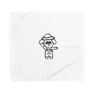 ごきげんかんちゃん Towel handkerchiefs