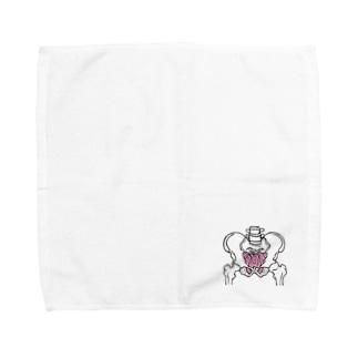 骨盤 骨 骨盤底筋群 内臓 NO.22 Towel handkerchiefs