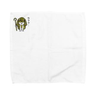 ネコツタンカーメン Towel handkerchiefs