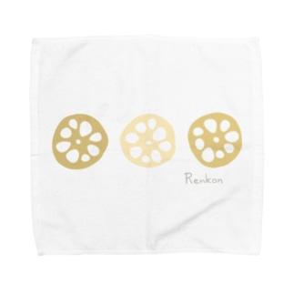 れんこん〜Renkon〜 Towel handkerchiefs