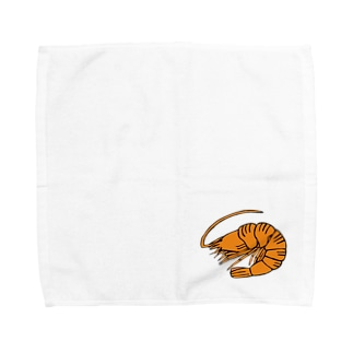 海老 エビ shrimp NO.36 Towel handkerchiefs