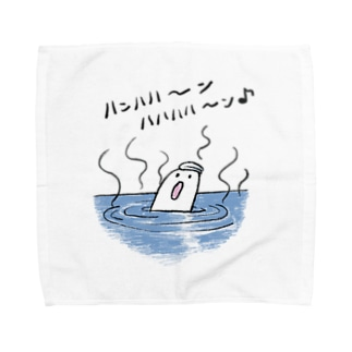 お風呂のおばけちゃん Towel handkerchiefs