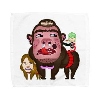 セアのお店のゆーこpayゴリラ Towel handkerchiefs