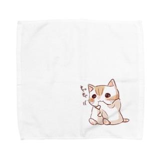 mogumoguたおにゃん Towel handkerchiefs