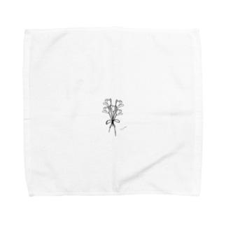 rilybiiのチューリップの花束 Towel handkerchiefs