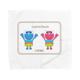 Cochi-ROBO&Chicchi-ROBO Towel handkerchiefs
