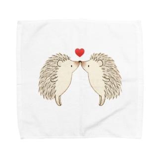 愛華のちゅ Towel handkerchiefs