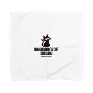DaydreamingCatBrewing_logo Towel handkerchiefs