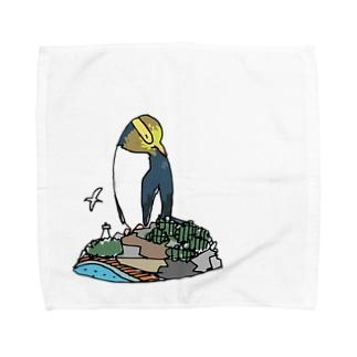 キガシラペンギン Towel handkerchiefs