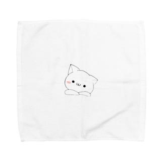 にゃこ Towel handkerchiefs