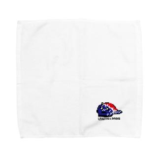 LONPARI 8BITS 「CAAAAP」 Towel handkerchiefs