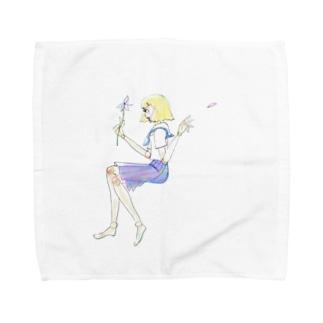 恋するロボット Towel handkerchiefs