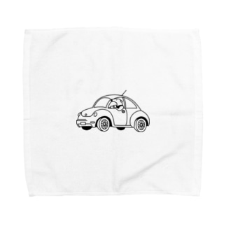 ドライブアリクイ Towel handkerchiefs