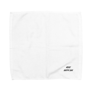 MORE HAPPY DAY Towel handkerchiefs