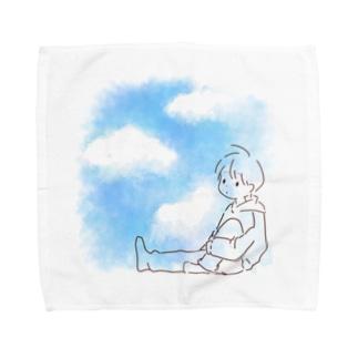 結町 いとの透ける夏 Towel handkerchiefs