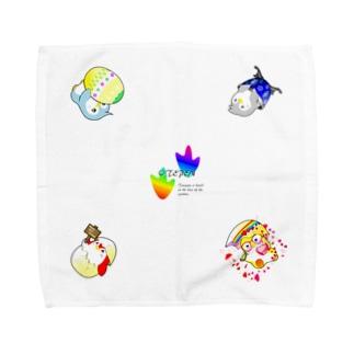 お天気ペンギンズ(おてペン) タオル Towel handkerchiefs
