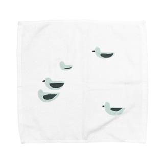 uの群鳥 Towel handkerchiefs