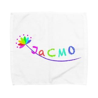 JaCOM オリジナルロゴ入り Towel handkerchiefs