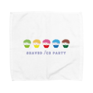 SHAVED ICE PARTY Towel handkerchiefs