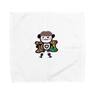 奇妙な天使 Towel handkerchiefs