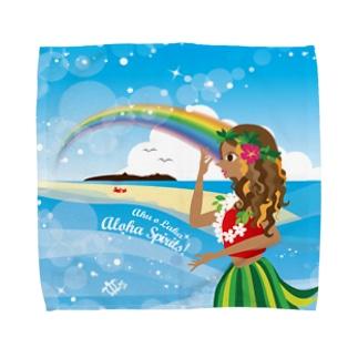 ハワイ大好き!カネオヘのラカ Towel handkerchiefs