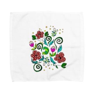 不思議な植物 Towel handkerchiefs
