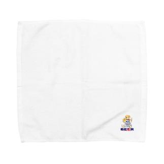 beer/ビール Towel handkerchiefs