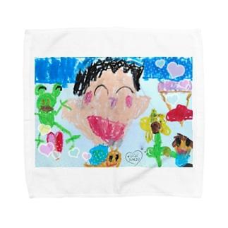 母の日 Towel handkerchiefs