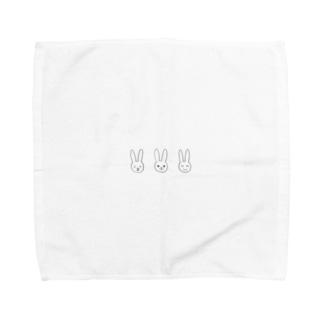 rilybiiのうさぎ🐰🐰🐰 Towel handkerchiefs