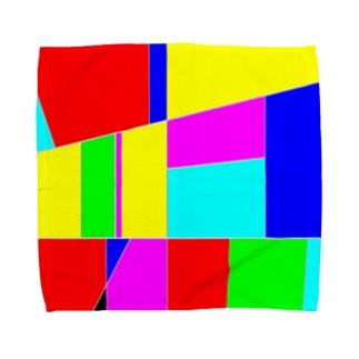 hirostickのカラフル Towel handkerchiefs