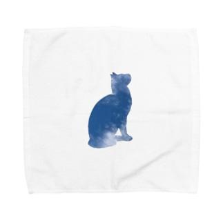 空猫シリーズ Towel handkerchiefs
