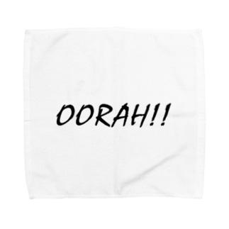 Oorah!! Towel handkerchiefs