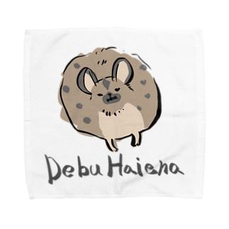 DEBUハイエナ Towel handkerchiefs