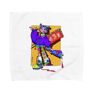 TSK original ^3 Towel handkerchiefs