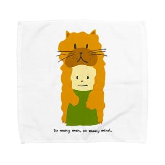ネコ坊や Towel handkerchiefs